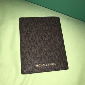 Gorgeous Michael Kors Passport Holder